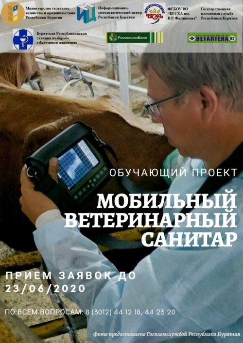В Бурятии стартует новый проект «Мобильный ветеринарный санитар»