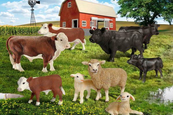 Каких сельхозживотных больше всего в России