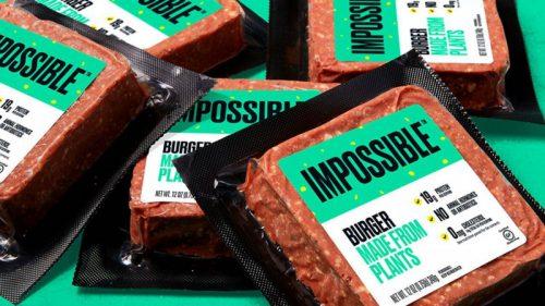Impossible Foods продает аналоги мяса в 2000 супермаркетов Walmart