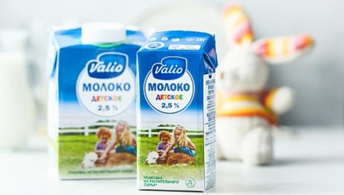 Valio начала выпускать в России детское молоко