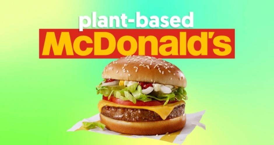 McDonald's запустил продажи бургеров с растительным аналогом мяса в Дании и Швеции