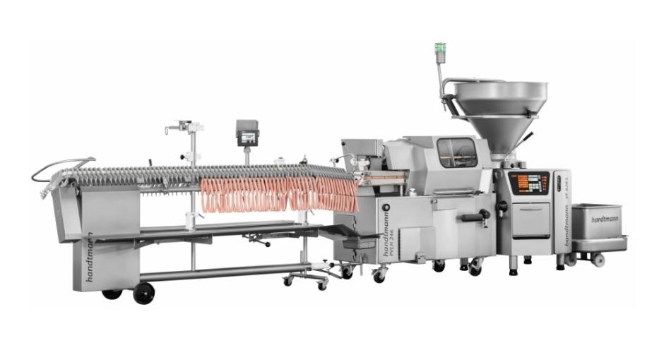 HANDTMANN представляет новое навешивающее устройство для сосисок