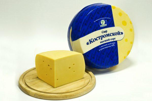Костромской сыр назвали самым вкусным брендом Золотого кольца