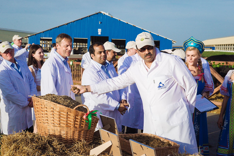 ПРЕСС-РЕЛИЗ«Русмолко» вошла в тройку крупнейших производителей молока РФ