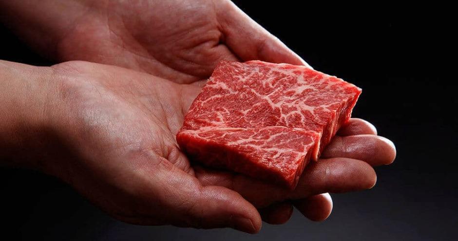 В Японии получили стейк из говядины вагю, напечатанный на биопринтере