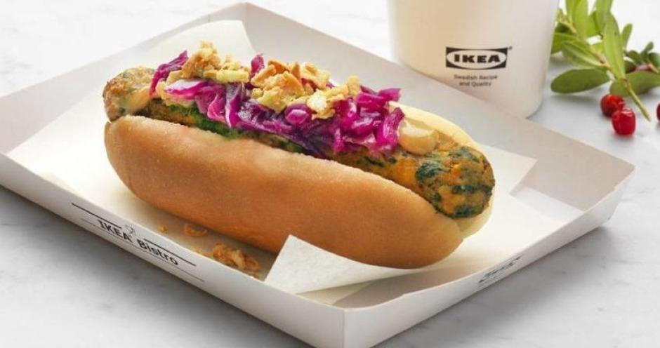 IKEA запустила продажи растительной альтернативы хот-догам в России