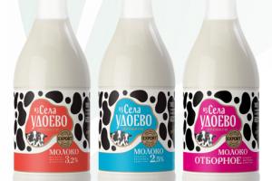 Новинка! «Из села Удоево»: молоко в пэт-бутылках